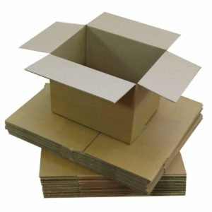Brown Single Wall Box 8x8x8 (203 x 203 x203mm)