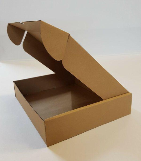 Die Cut Parcel Box e-Flute - 236 x 196 x 47mm